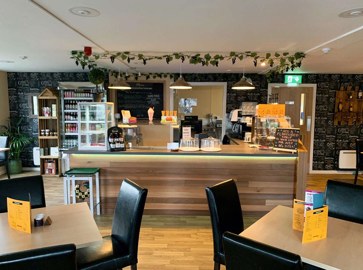 Heaton Fold Garden Centre café with Kalea Plus coffee machine