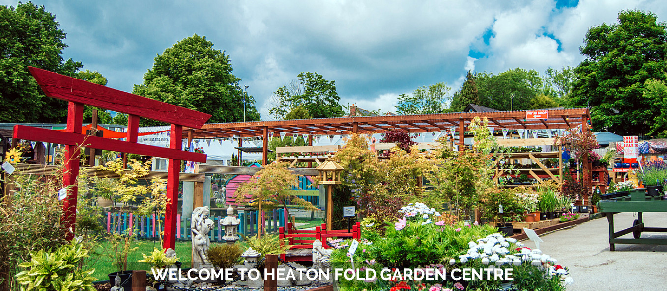 Welcome to Heaton Fold Garden Centre