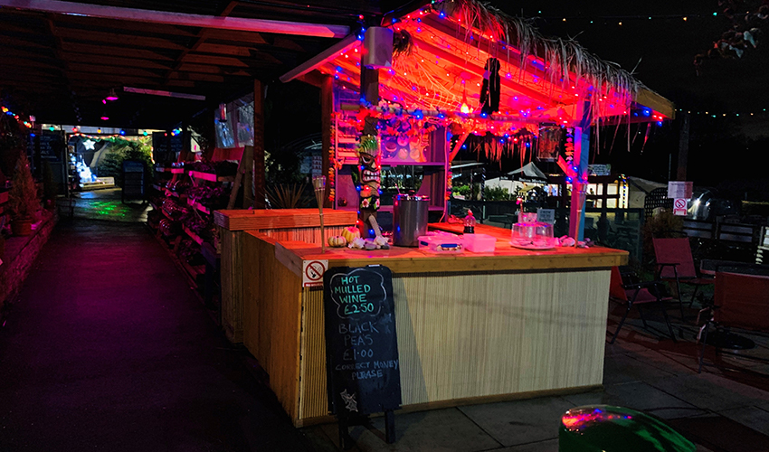 Christmas Tiki Bar